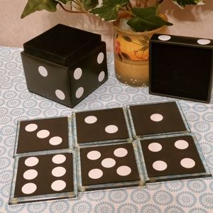 New Domino's Coaster. Great for protecting tables.